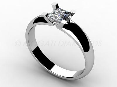 Zásnubní prsteny-Zásnubní prsten 017 Z