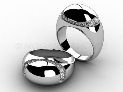 Prsteny-Prsten Mogati 009 Z