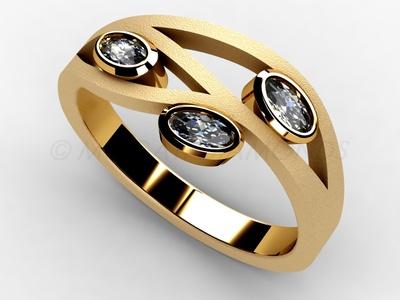 Prsteny-Prsten Mogati 010 Z
