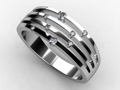Prsteny-Prsten Mogati 012 Z