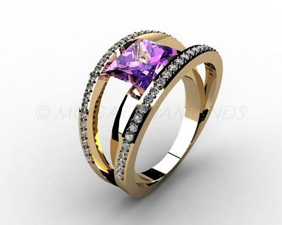 Prsteny-Prsten Mogati 042 Z