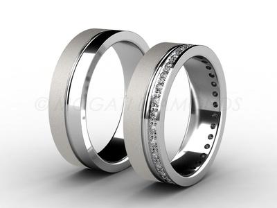 Snubní prsteny-Snubní prsteny 002 Z