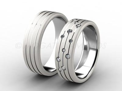 Snubní prsteny-Snubní prsteny 003 Z