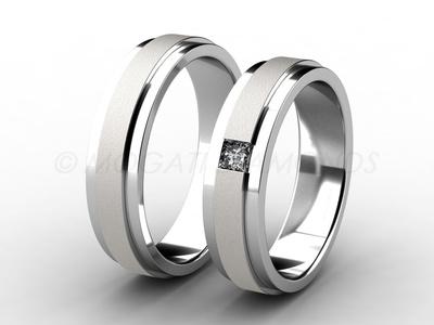 Snubní prsteny-Snubní prsteny 006 Z