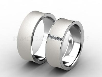Snubní prsteny-Snubní prsteny 007 Z