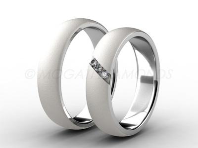 Snubní prsteny-Snubní prsteny 009 Z