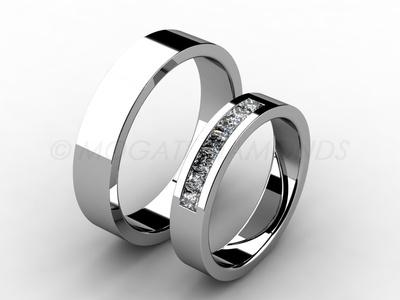 Snubní prsteny-Snubní prsteny 044 Z