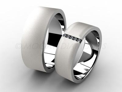 Snubní prsteny-Snubní prsteny 047 Z