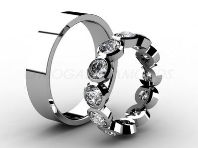 Snubní prsteny-Snubní prsteny 048 Z