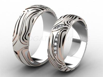 Snubní prsteny-Snubní prsteny 050 Z