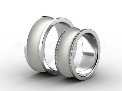 Snubní prsteny-Snubní prsteny 057 Z