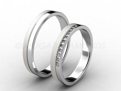 Snubní prsteny-Snubní prsteny 061 Z