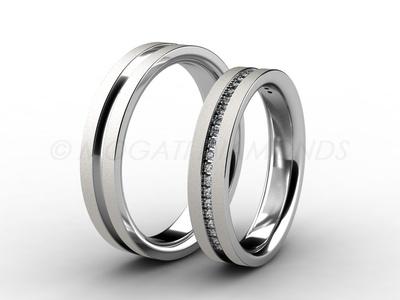 Snubní prsteny-Snubní prsteny 063 Z