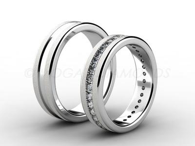 Snubní prsteny-Snubní prsteny 065 Z