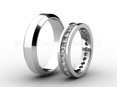 Snubní prsteny-Snubní prsteny 068 Z