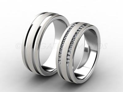 Snubní prsteny-Snubní prsteny 069 Z