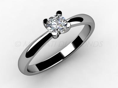 Zásnubní prsteny-Zásnubní prsten 001 Z