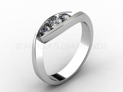 Zásnubní prsteny-Zásnubní prsten 006 Z