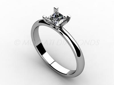 Zásnubní prsteny-Zásnubní prsten 008 Z