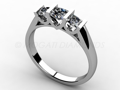 Zásnubní prsteny-Zásnubní prsten 011 Z