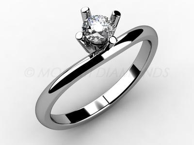 Zásnubní prsteny-Zásnubní prsten 012 Z