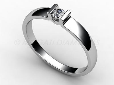 Zásnubní prsteny-Zásnubní prsten 015 Z