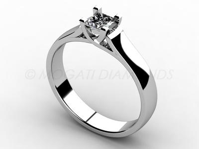 Zásnubní prsteny-Zásnubní prsten 014 Z